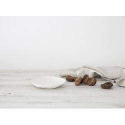 Flax Side Plate 16cm - snow white